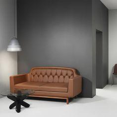 Canapé en cuir Onkel de Normann Copenhagen chez Made in design