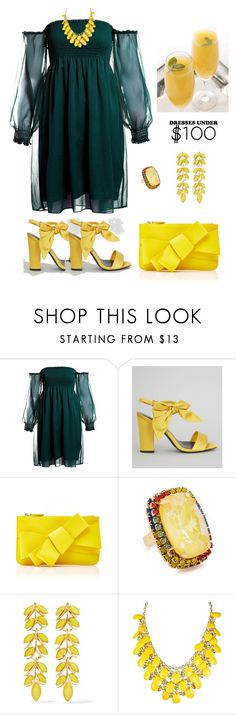 """Bright & Cheery🌞☀"" by parnett ❤ liked on Polyvore featuring Sans Souci, New Look, Delpozo, Elizabeth Cole and Ben-Amun"
