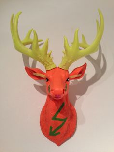 Stag head 'Disco-Stag', £45.00