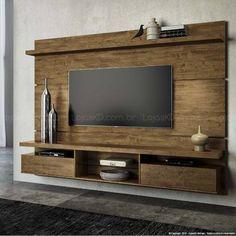 Home Suspenso para TV até 60 Polegadas Livin 165 x 220 x 35 Canyon - HB Móveis