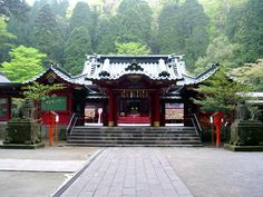 Hakone Jinja/ #Japan #Hakone/ http://traveldreamscapes.wordpress.com/2014/09/18/japan-hakone/