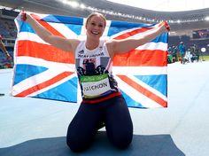 Sophie Hitchon wins bronze at Rio 2016