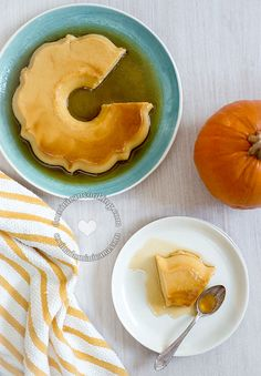 Coffee Liqueur Flan and Kahlúa Latte Recipe: a flan that you will love. A flan for grownups. I absolutely love the combination in this flan.