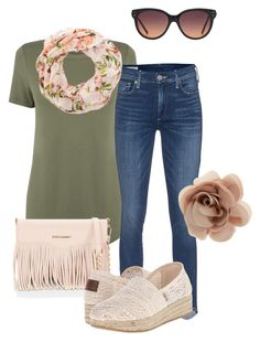 Untitled #254 by alliedrover on Polyvore featuring polyvore, fashion, style, Oasis, True Religion, BOBS from Skechers, Rebecca Minkoff, Accessorize, MANGO and clothing