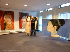 Moderne Schilderijen - Frank Wagtmans.