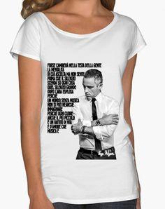 T-shirt EROS RAMAZZOTTI su bianco