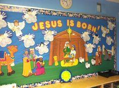 fall classroom door decorating ideas | Religion Bulletin Boards and Classroom Ideas | MyClassroomIdeas.com