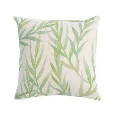 Kissen Blätter, B:45cm x L:45cm, grün