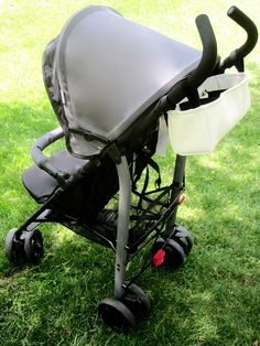 DIY Tutorial for Making a Stroller Organizer