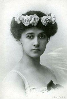 Tamara Karsavina-She was the most beautiful dancers of the Mariinsky Theatre. Poets vied dedicated poems to her, artists painted her portraits. She was also the most educated and the most charming.