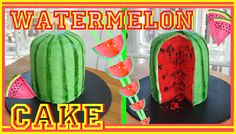 Watermelon Cake - Gâteau Pastèque - Carl is cooking -> youtube