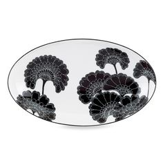 kate spade new york Japanese Floral Small 9 1/2' Oval Platter