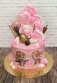 Торт со скай щенячий патруль