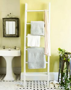 many rentals don't have adequate towel racks (if any). This is a great mobile way of hanging towels