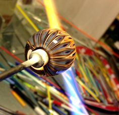 MICMAC glass bead - in the making :D by carla di francesco www.carlee.de