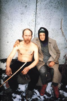 the most emotionally draining exhibit i've ever been to. Ukranian photographer Boris Mikhailov