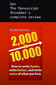 Rachel Aaron's promises writers the elusive golden prize: extreme daily word counts Writing A Book, Writing Tips, Daily Word, Self Publishing, Enough Is Enough, Good Advice, Author, Social Media, Book Reviews