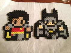 Batman Perler beads