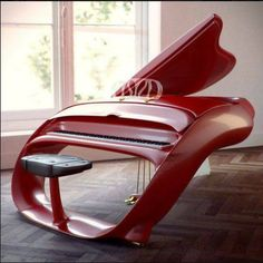 The Schimmel Pegasus Grand Piano looks more like a spaceship or something else from the Sci-Fi channel than a piano. Schimmel made 14 of these about 10 years ago for people like Prince, Eddie Murphy and Lenny Kravitz. If you have tonnes of money, . Piano Y Violin, The Piano, Piano Art, Piano Room, Piano Music, Art Music, Piano Keys, Indie Music, Soul Music