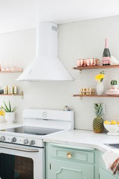 inside the cutest kitchen makeover