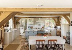 The perfect kitchen for whipping up some pancakes! Get the full tour of this gorgeous oak framed home in the April issue - out now! . Photo: Simon Maxwell . #homebuilding #selfbuild #homeimprovement #dreamhome #interior #design #Instainspo #oakframe #familyhome #modernrustic #homesweethome #countryside #cottagestyle #interiorsandhome #interiorarchitecture #idea #home #house #ideas #instahomes #archilovers #pancakes #homedecor #traditional #myhomevibes