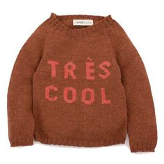 TRES COOL SWEATER only $96 (!!)