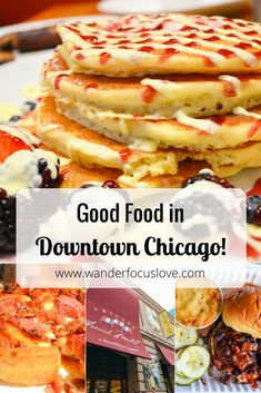 More than just the signature Deep Dish pizza, come to Chicago, Illinois (USA) for surprises that will make your taste buds dance! #Chicago #goodfood