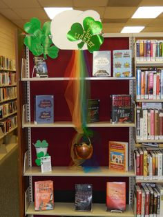 Luck O' the Library display
