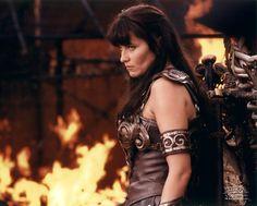Xena Lucy Lawless Hourglass 64 kg cm Prince Warrior, Xena Warrior Princess, Goddess Warrior, Warrior Women, Amazon Queen, Greek Men, Badass Women, Movies Showing, Strong Women