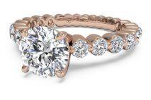 Shared-Prong Diamond Band Engagement Ring – 1888