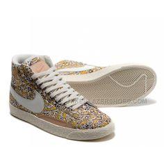low priced 787d3 4bd7f Deal Nike Blazer High Women's Premium Print Floral Nike High Tops, Nike  Blazers, Girls