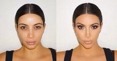 10 Secrets to Mastering Kim Kardashian& Makeup - Kim Kardashian Makeup Routine Makeup You Need, Love Makeup, Makeup Tips, Beauty Makeup, Makeup Products, Makeup Style, Hair Products, Blue Smokey Eye, Kim K Makeup