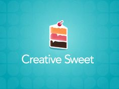 #logo #design #inspiration #cake #creative #sweet
