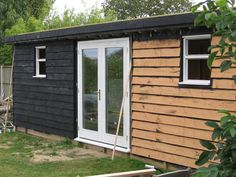 The Workshop Construction: External Cladding – Herbidacious Shed Cladding, Shiplap Cladding, Cedar Cladding, Cedar Shingle Siding, Cedar Shingles, Backyard Studio, Garden Studio, Garden Buildings, Modern Buildings