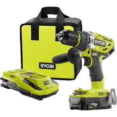 Cordless Hammer Drill, Cordless Tools, Home Depot, Power Tool Kits, Building A Floating Deck, Neo Angle Shower, Ryobi Tools, Frameless Shower Enclosures, Screws And Bolts