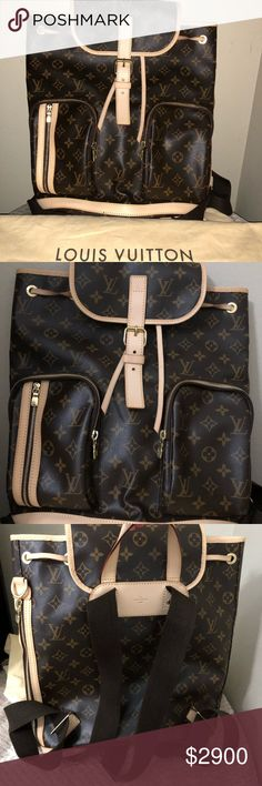Louis Vuitton Louis Vuitton Discontinued Bosphore Backpack/ Monogram Canvas. This Backpack is practically brand new. It will come with dust bag. No trades! Serious buyers only. Louis Vuitton Bags Backpacks