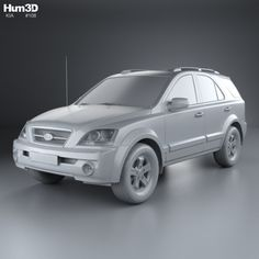 Buy Kia Sorento EX 2002 by on The model was created on real car base. It's created accurately, in real units of measurement, qualitatively and m. Kia Sorento, Cinema 4d, The Unit, Car, Model, Automobile, Scale Model, Autos