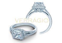 COUTURE-0381P engagement ring from The Couture Collection of diamond engagement rings by Verragio