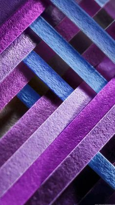 Purple and Blue Cross- Weave Wallpaper