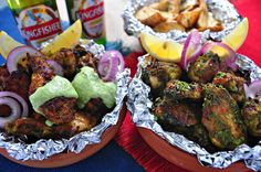 Dusty's Foodie Adventures: Chicken Wings - Goan Chicken Cafreal Inspired