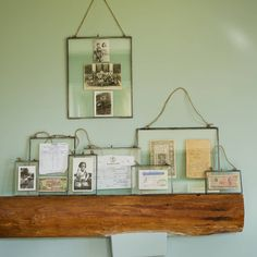 10GBP Glass Hanging Frame