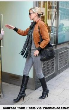 kate moss cognac leather jacket - Google Search