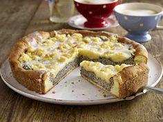 Käsekuchen - die schönsten Rezept-Ideen - kaese-mohn-kuchen  Rezept