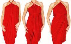 The ONE Dress multi wrap infinity wear convertible  by Loretari