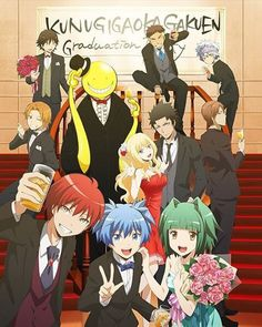 Assassination classroom- the graduation of their dreams