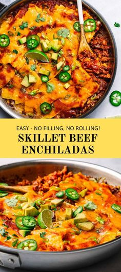 Best Beef Recipes, Lamb Recipes, Mexican Food Recipes, Ethnic Recipes, Favorite Recipes, Best Beef Enchilada Recipe, Enchilada Recipes, Dinner Dishes, Food Dishes