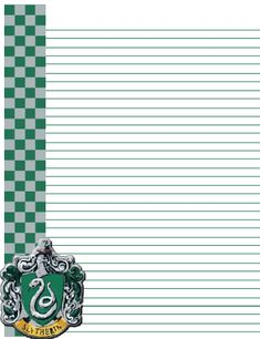 Slytherin Letter by AliciaRFlowright Harry Potter Letter, Deco Harry Potter, Harry Potter Severus Snape, Harry Potter Classroom, Theme Harry Potter, Harry Potter Planner, Harry Potter Printables, Slytherin, Harry Ptter