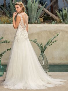 Today, we've joined forces with Casablanca Bridal to share their gorgeous new Hidden Oasis wedding dress collection, with gorgeous gowns for every bride. Bridal Wedding Dresses, Bridal Style, Lace Wedding, Casablanca Bridal Gowns, Future Mrs, Beaded Lace, Traditional Dresses, Dress Collection, Wedding Ideas