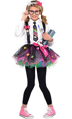 60657d1e45 Hello Kitty Costume Accessories - Party City Cute Nerd Costumes