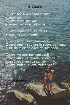 O mundo erótico de Sibila!: Te quero